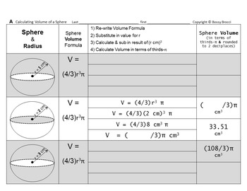 Brocci Bundles: Surface Area Volume Changing Dimensions Spheres Bundle