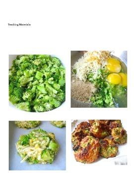 Broccoli Bites Adapted Recipe