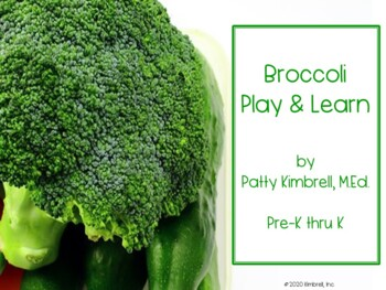 Broccoli Worksheets Teaching Resources Teachers Pay Teachers