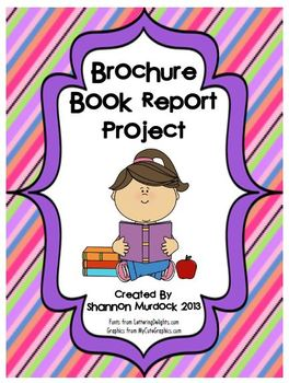 Brochure Book Report Project