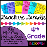 Standards-Based Brochure Tri-folds  (A Growing Bundle) 4th Grade