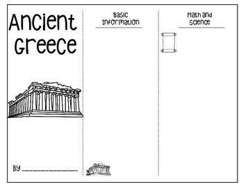 Brochure Project for Ancient Greece