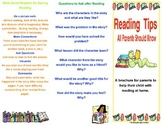 Meet the Teacher Parent Resource- Reading Tips for Parents Brochure
