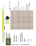 Brochure Style Foldable Review Graphing, Addition Rules &