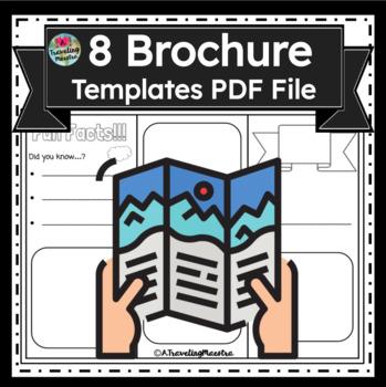 8 Unique Brochure Template Designs