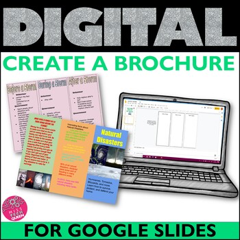 Brochure Template Google Classroom Activities
