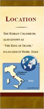 Brochure Template-Rome Italy-World History