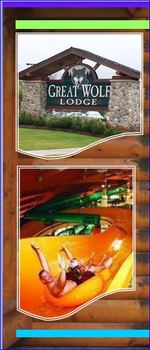 Brochure Template-Vacation-The Great Wolf Lodge