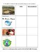 """Brochure assignment: Human Impact - """"Racing Extinction"""" & rubric (1 week lesson)"""