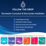Brochure for Follow the Drop Stormwater Curriculum and Rai
