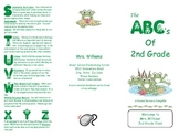 Brochure for beginning of the year - Frogs