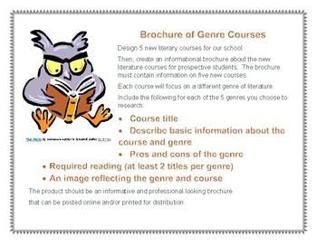 Brochure of Genre Courses Project (PDF)