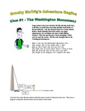 Brocky McTrig: Clue #1 The Washington Monument - right triangle trigonometry