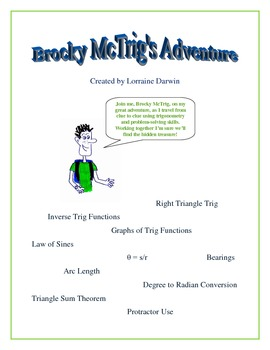 Brocky McTrig's Adventure: Complete Clues Package #1-6