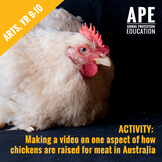 Broiler Chicken Welfare   Arts, Year 9-10   Media Arts