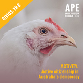 Broiler Chicken Welfare | Civics & Citizenship Yr 8 | Know