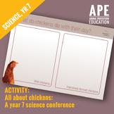 Broiler Chicken Welfare | Science Year 7 | Science Inquiry Skills