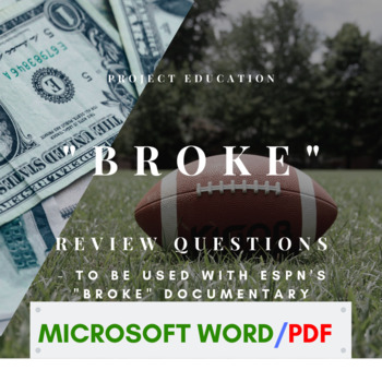 """Broke"" Review Questions"