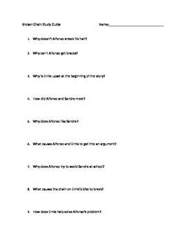 Broken Chain Study Guide