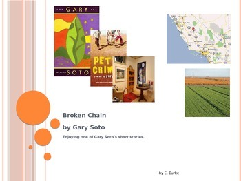 Broken Chain by Gary Soto