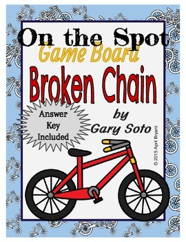 Broken Chain by Gary Soto Board Game