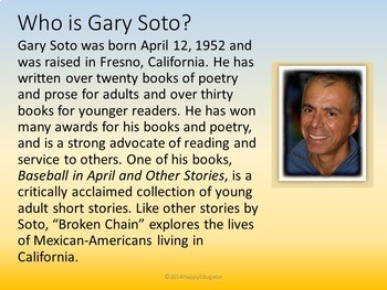 Broken Chain by Gary Soto PowerPoint