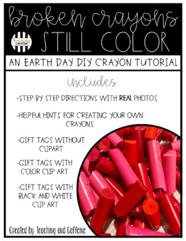 Broken Crayons Still Color - Make Your Own Crayons!