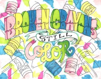 Broken Crayons poster
