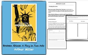 Broken Glass by Arthur Miller - Play Study