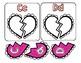 Broken Heart Alphabet Match-Up