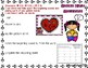 Broken Heart Beginning Sounds CVC Valentine's Day File Folder Game CVC words