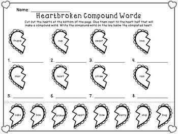 Broken Heart Compound Words