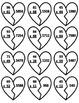 Broken Heart Multiplication 2 x 2