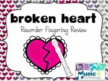Broken Heart Recorder Fingering Review