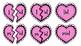 Broken Heart Valentine Valen-Rhymes Phonics Blends -ID 3 Letter Words