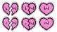 Broken Heart Valentine Valen-Rhymes Phonics Blends -OD 3 Letter Words
