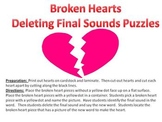 Broken Hearts - A Valentine's Day Deleting Final Sound Puzzle