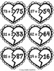 Broken Hearts Addition Puzzle {+1 +2 +3 Sums to 99}