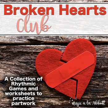 Broken Hearts Club: PDFs and Worksheets to Practice Partwork- BUNDLE