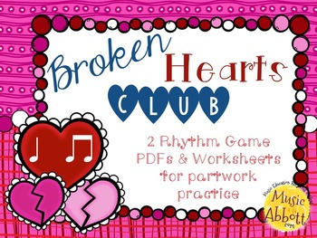 Broken Hearts Club: PDFs and Worksheets to Practice Partwork- ta ti-ti