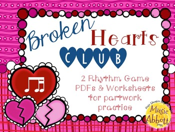 Broken Hearts Club: PDFs and Worksheets to Practice Partwork- ti-tika