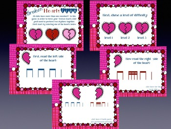 Broken Hearts Club: PDFs and Worksheets to Practice Partwork- tika-tika