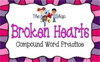 Broken Hearts - Compoun Word PowerPoint Activity