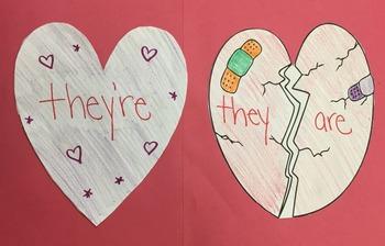 Valentine's Day Broken Hearts Contractions
