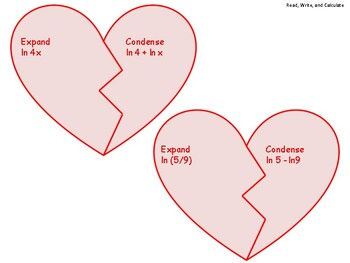 Broken Hearts: Expand and Condense Logs