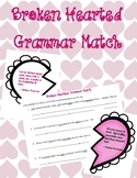 Broken Hearts Grammar Match