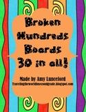 Broken Hundreds Boards- 30 in all!