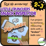 Broken Ruler Measuring Center Little Crunchers Snack Inspector