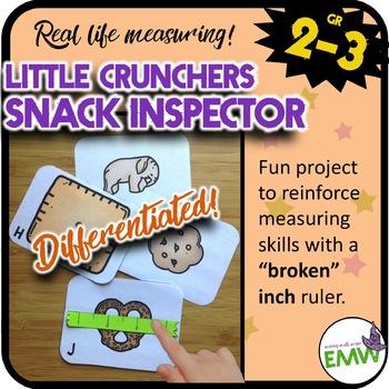 Broken Ruler Measuring Center - Little Crunchers Snack Inspector