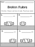 Broken Ruler Worksheet